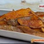 اصابع البطاطا الحلوة في الفرن من ايفري داي فود