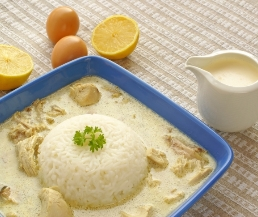 شوربة الأرز والفطر