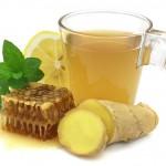 عصير الزنجبيل والليمون
