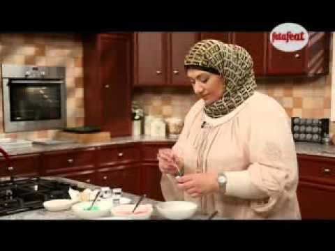 كاب كيك قوس قزح لحفلات الاطفال صحبة طيبة2 وفاء الكندري