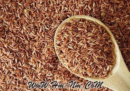 الأرز-البنى