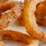 طريقة عمل حلقات البصل Onion Rings