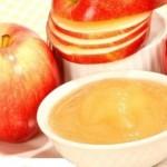 وجبة التفاح المهروس