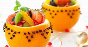 طريقة رائعة لتقديم سلطة الفواكه