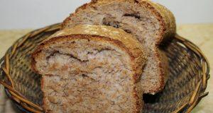 خبز التوست الغامق